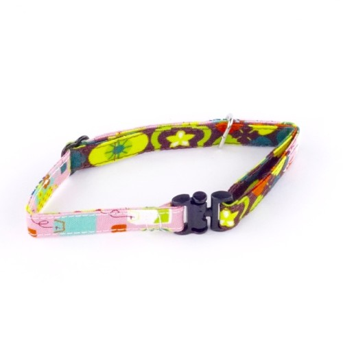 Retro Fantasy – Safety Collar for Cats & Small Dogs