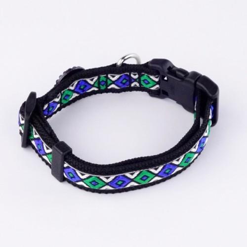 Ethnic Art – Collar for Small to Medium Dogs