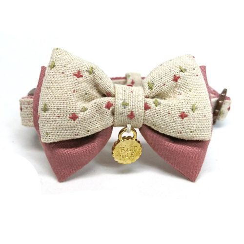 Cupcake collar with bow for small dogs and cats