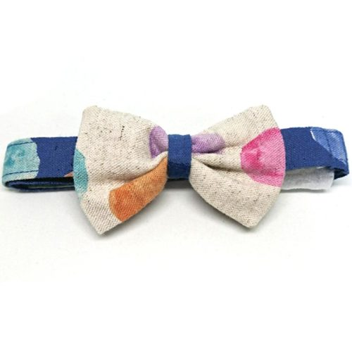 Polka Dot Dreams bowtie collar for small to medium dogs