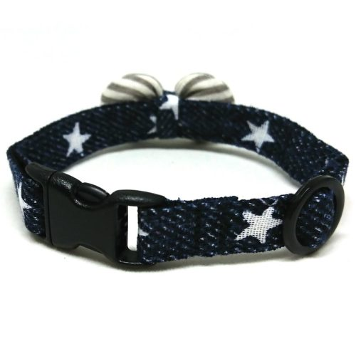 Pop Star collar with bowtie for cats and small dogs