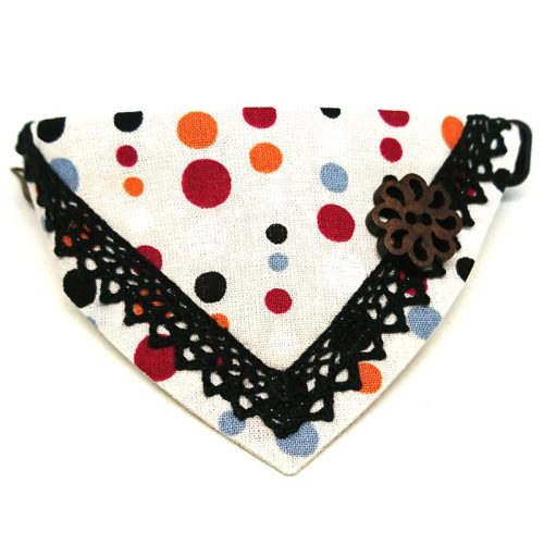 Polka Dots – Bandana for Cats & Small Dogs