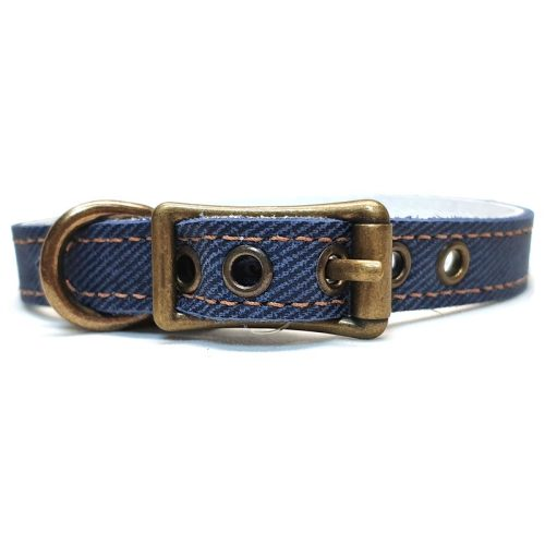 Buddy Belts Elite ID Collars (Blue Jean)