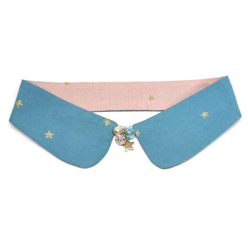 Star Dust Reversible Decorative Collar