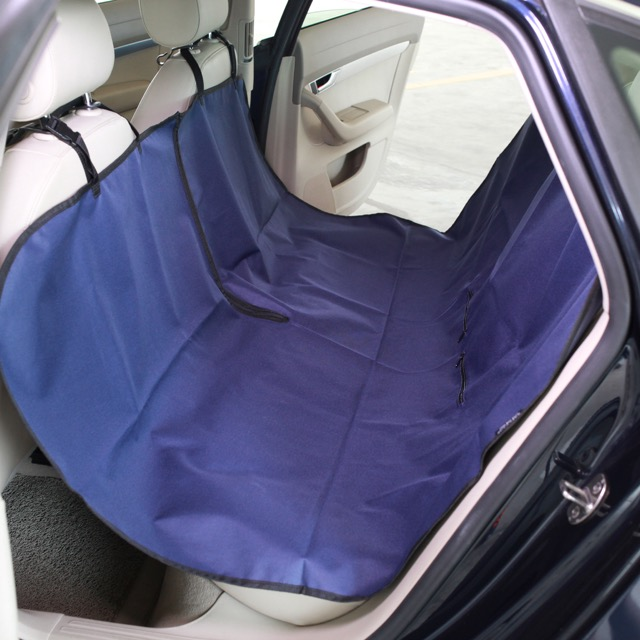 Raffwear rear seat cover in Navy Blue