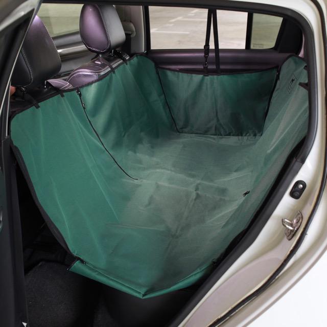Raffwear seat cover (rear deluxe) in Forest Green