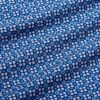 Leeward Short Sleeve Popover - Blue Coral Circle GeoPrint, fabric swatch closeup