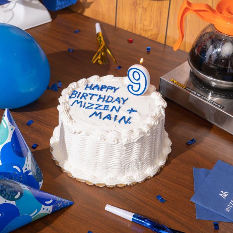 It's Mizzen's 9th Birthday!