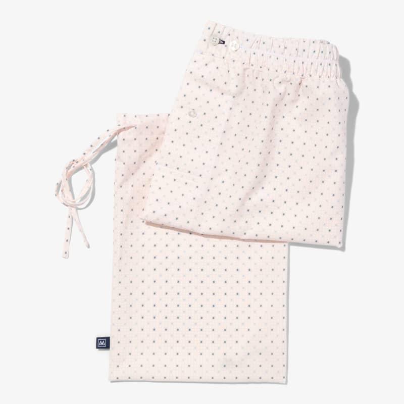 Leeward Boxer - Pink Check WithPrint, lifestyle/model