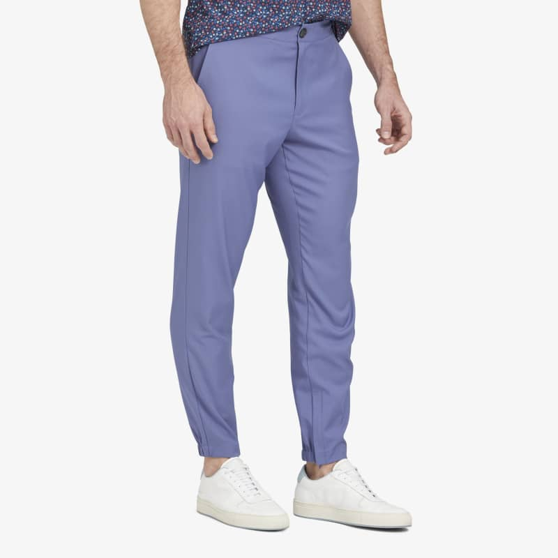 Baron Jogger - Ocean Blue Solid, lifestyle/model