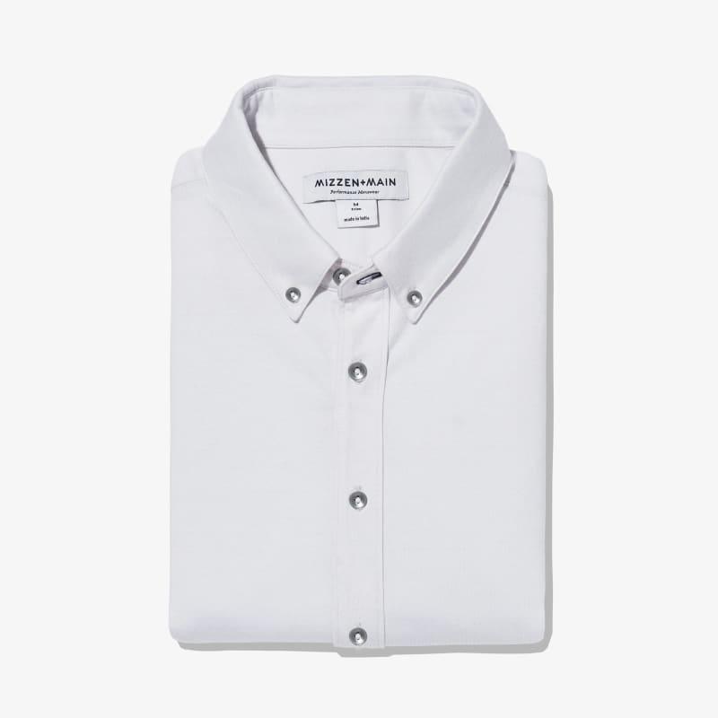 Wilson Dress Shirt - Light Gray Heather, featured product shot