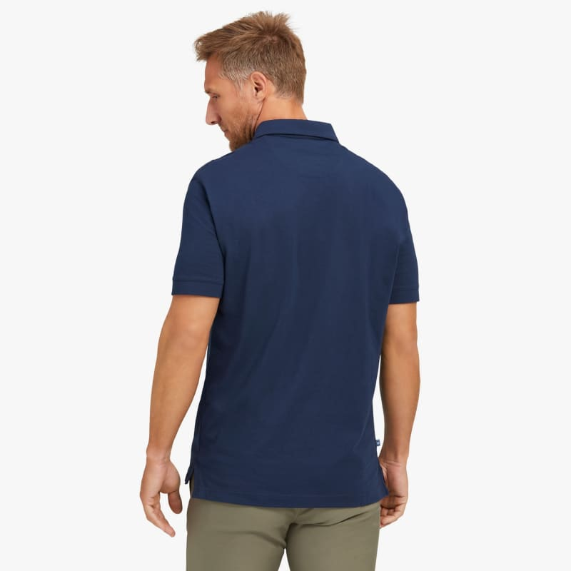Wilson Polo - Navy Solid, lifestyle/model