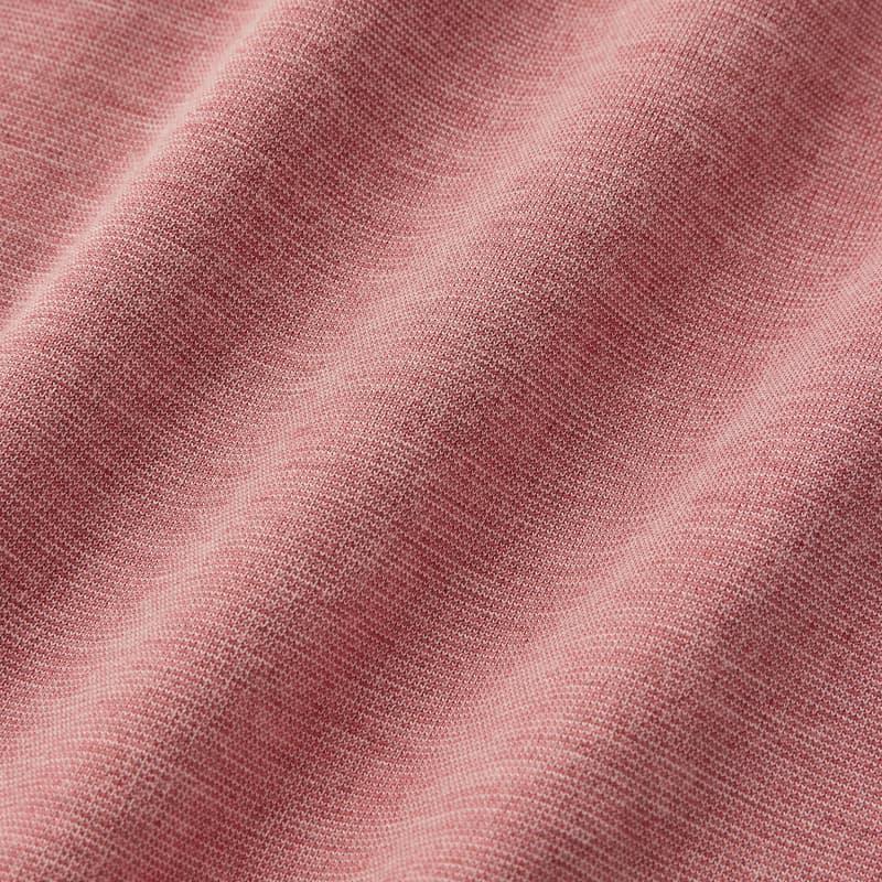 Wilson Polo - Red Heather, fabric swatch closeup