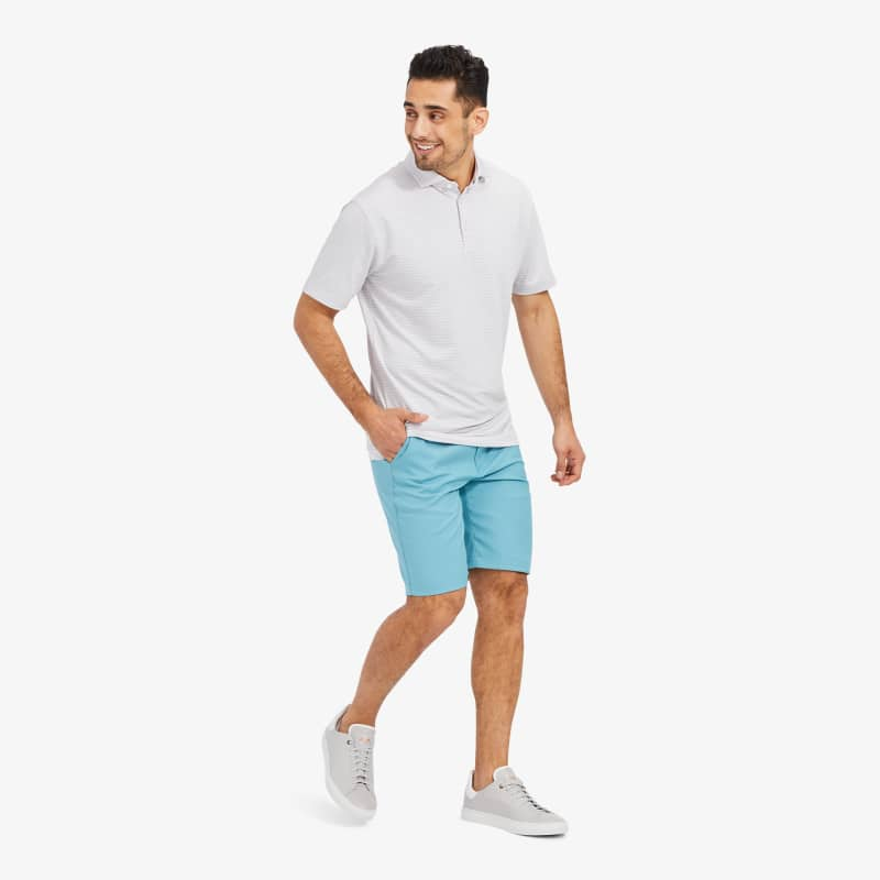 Phil Mickelson Polo - Kiawah Breeze Stripe, lifestyle/model