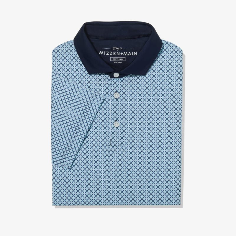 Phil Mickelson Polo - Coast to Coast GeoPrint, featured product shot
