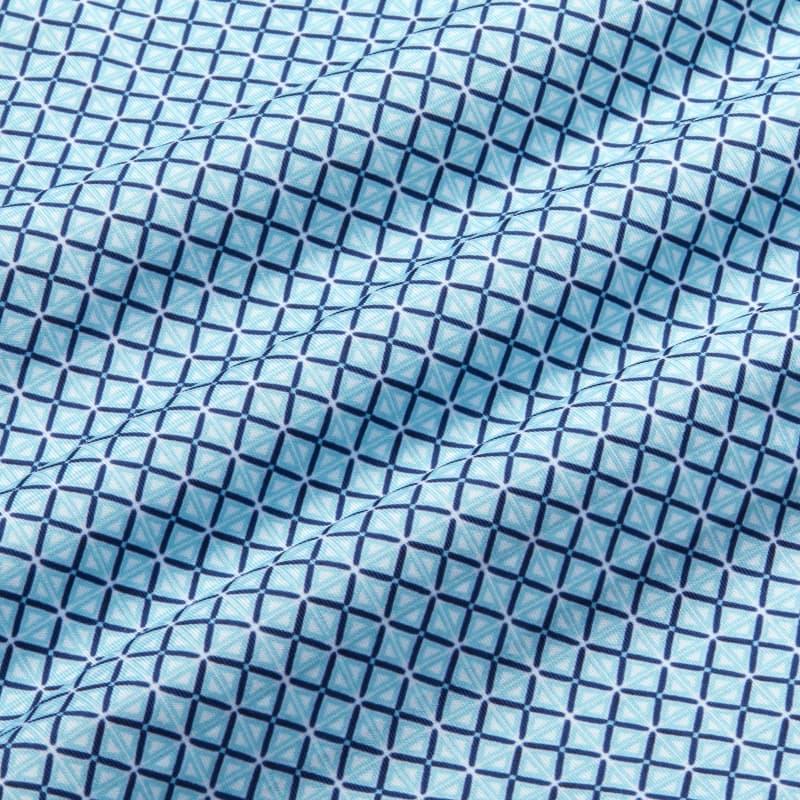 Phil Mickelson Polo - Coast to Coast GeoPrint, fabric swatch closeup