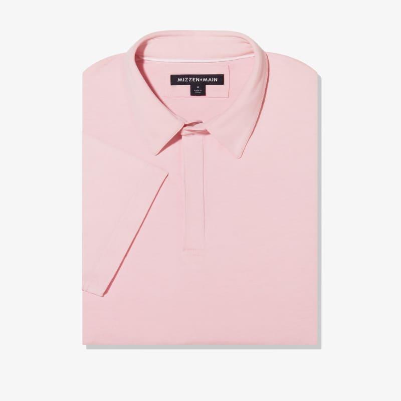 <em class=drirelease-title>drirelease</em><sup class=molecular>®</sup> Polo - Pink Heather, featured product shot