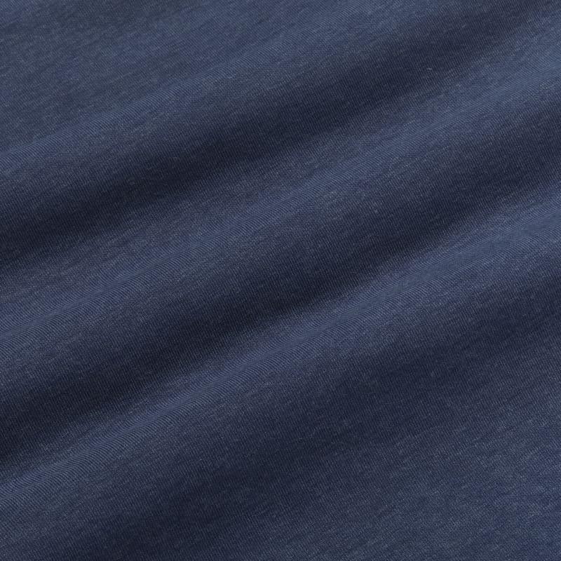 <em class=drirelease-title>drirelease</em><sup class=molecular>®</sup> Polo - Navy Heather, fabric swatch closeup