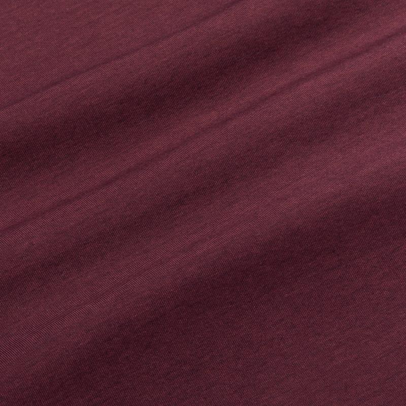 <em class=drirelease-title>drirelease</em><sup class=molecular>®</sup> Long Sleeve Polo - Burgundy Heather, fabric swatch closeup
