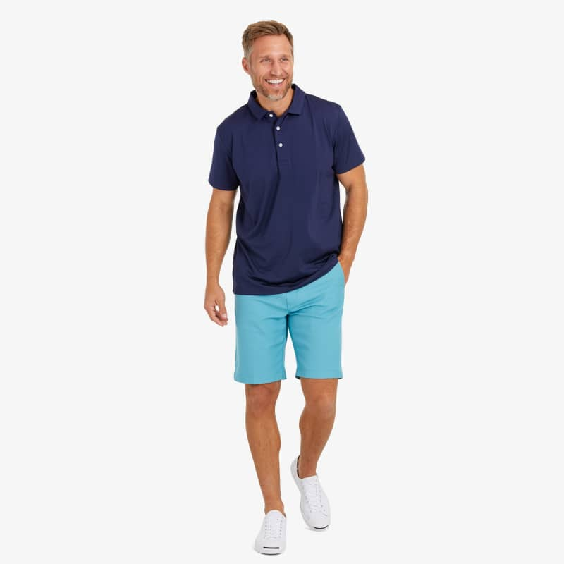 Phil Mickelson Polo - Navy Solid, lifestyle/model