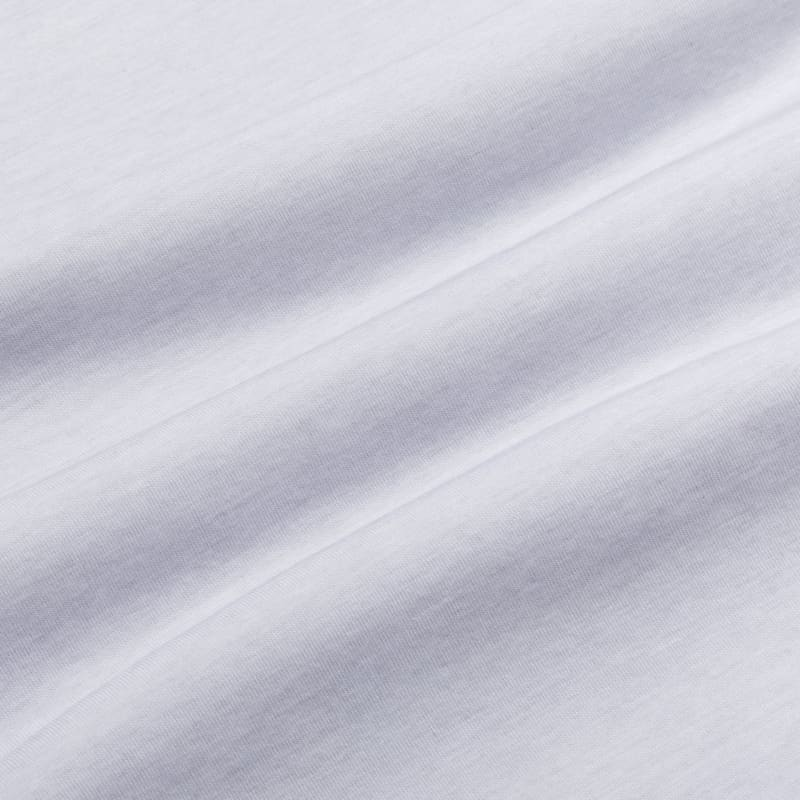 <em class=drirelease-title>drirelease</em><sup class=molecular>®</sup> Long Sleeve Polo - Light Gray Heather, fabric swatch closeup