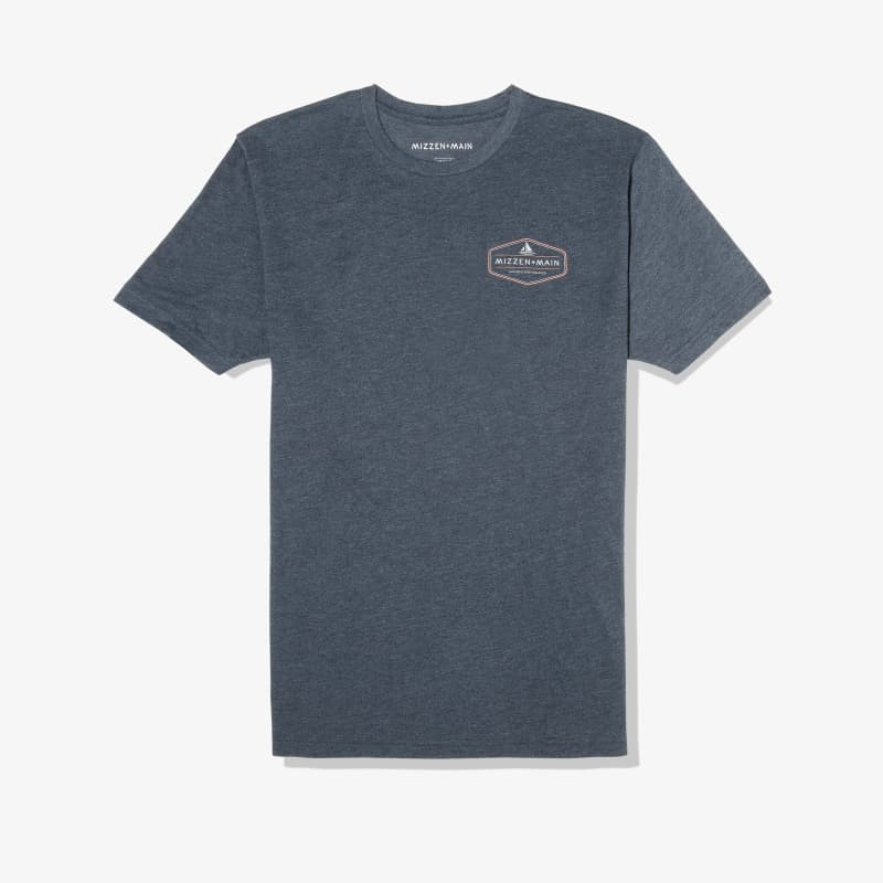 Soft Wash T-shirt - Navy Back Graphic, featured product shot