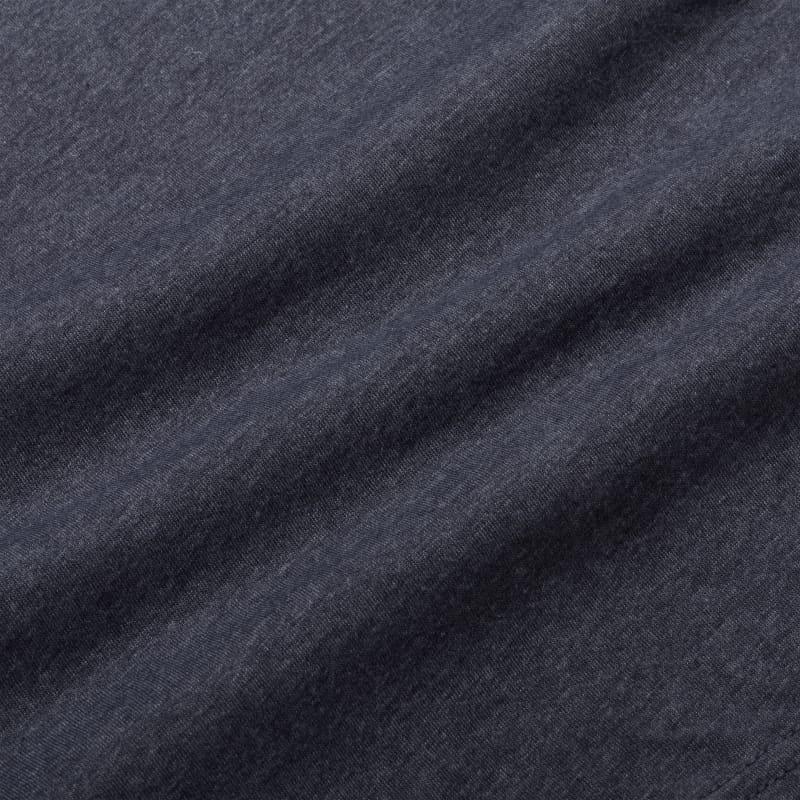 Soft Wash T-shirt - Navy Sailboat, fabric swatch closeup