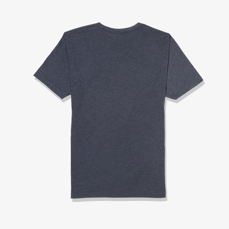 Soft Wash T-shirt - Navy Sailboat, lifestyle/model