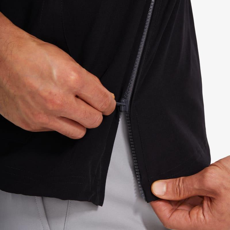 Leeward Pullover - Black Solid, lifestyle/model