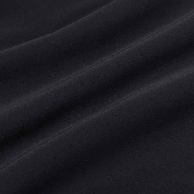 Leeward Pullover - Black Solid, fabric swatch closeup