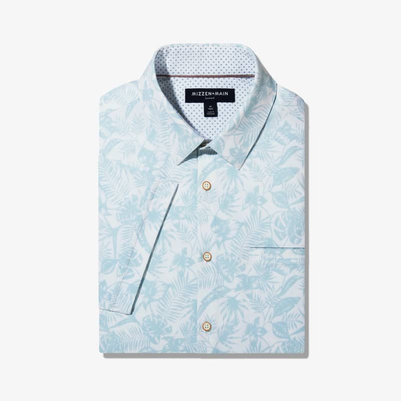 Leeward Vacation Shirt - Skyway Tropical Print, featured product shot