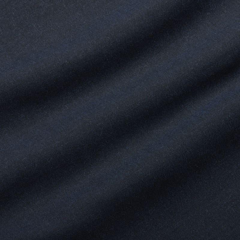City Flannel - Navy Heather, fabric swatch closeup