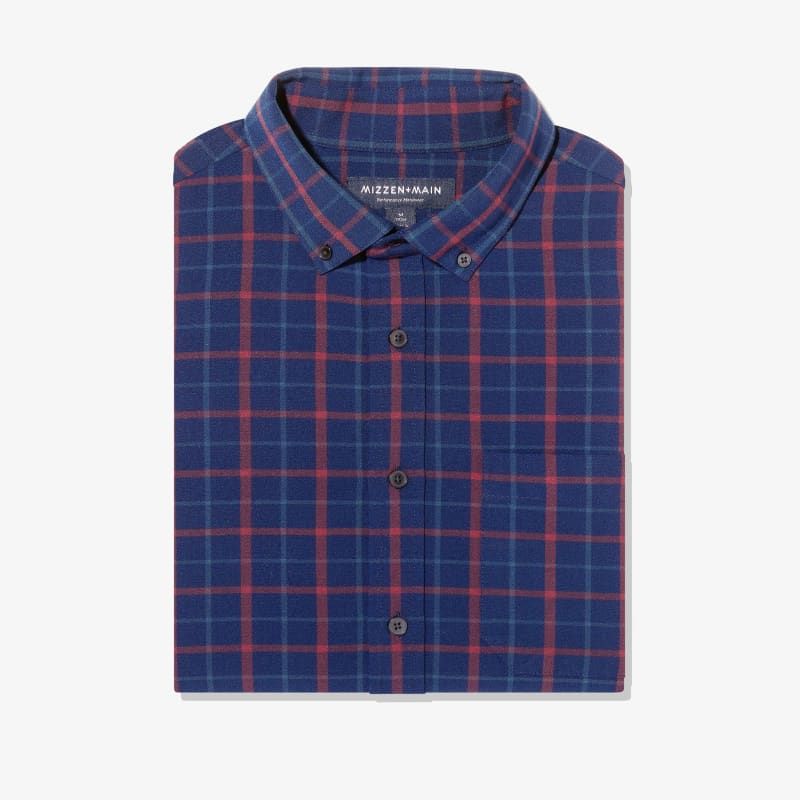 City Flannel - Navy Red Multi LargePlaid, featured product shot