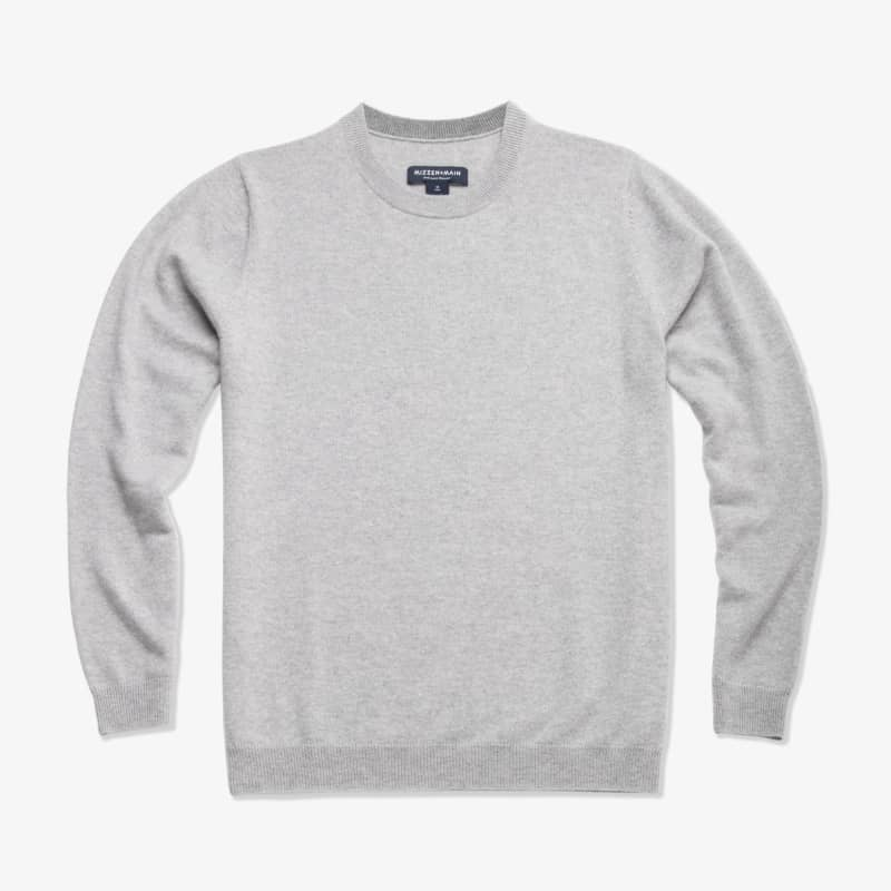 Arden Sweater - Light Gray Heather, featured product shot