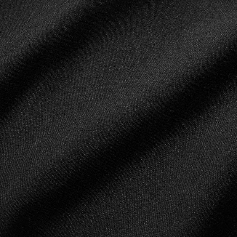 Baron Chino - Black Solid, fabric swatch closeup