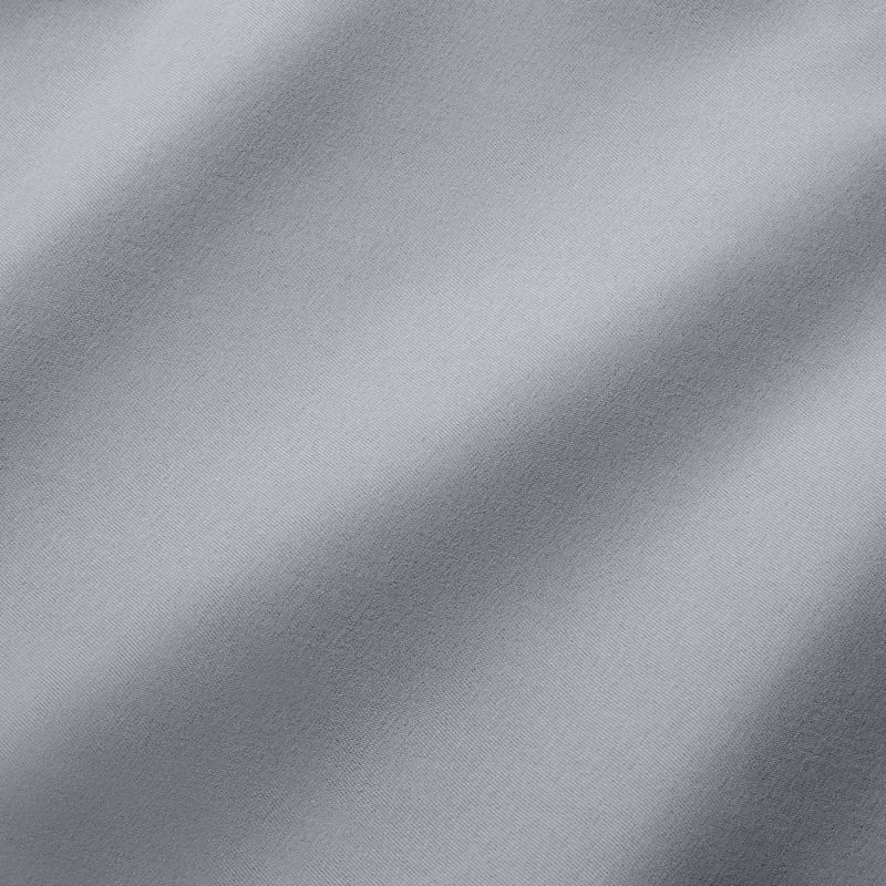 Baron Chino - Ash Gray Solid, fabric swatch closeup
