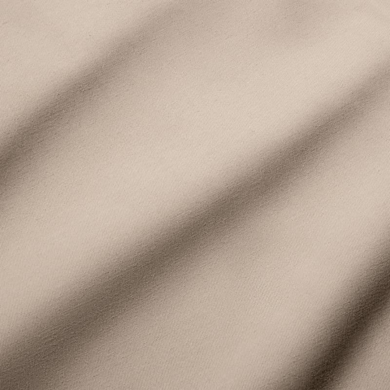 Baron Chino - Sand Solid, fabric swatch closeup