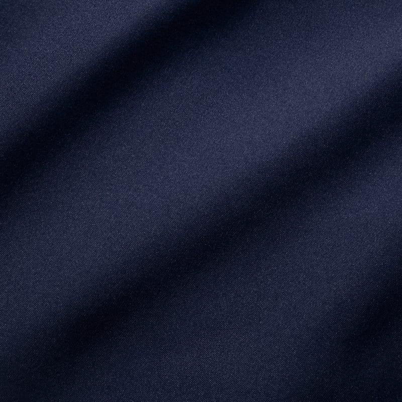 Baron Chino - Navy Solid, fabric swatch closeup
