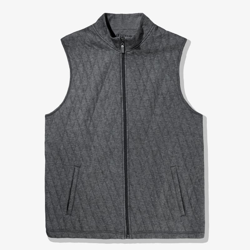 Rockwell Vest - Charcoal Heather, featured product shot