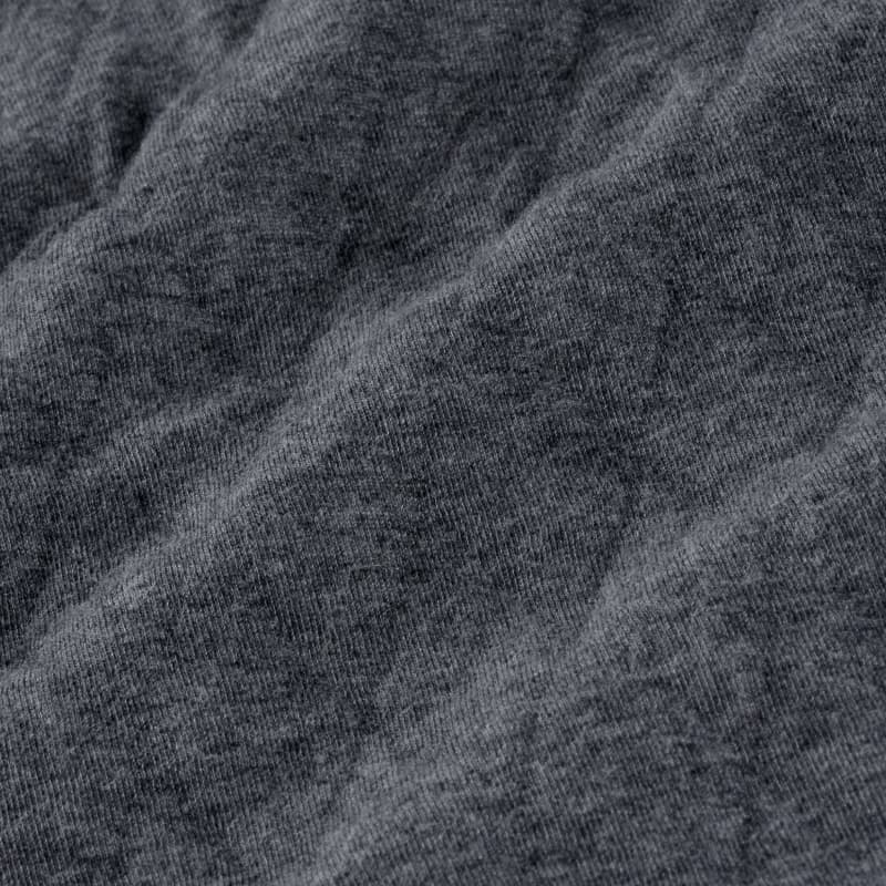 Rockwell Vest - Charcoal Heather, fabric swatch closeup