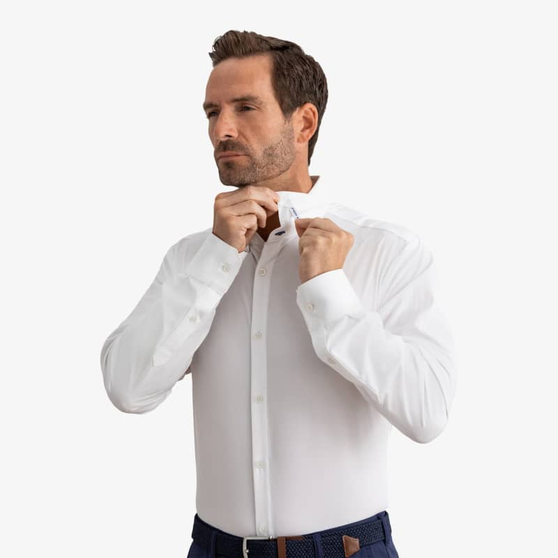 Collar Stays - 1 Pair, fabric swatch closeup