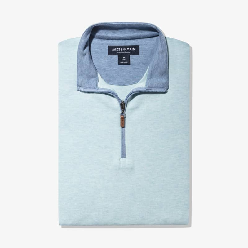 Fairway Pullover - Angel Blue Heather, featured product shot