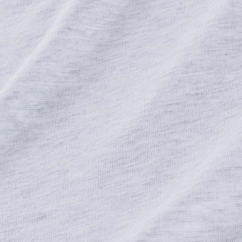 Fairway Pullover - Light Gray WhiteHeather, fabric swatch closeup