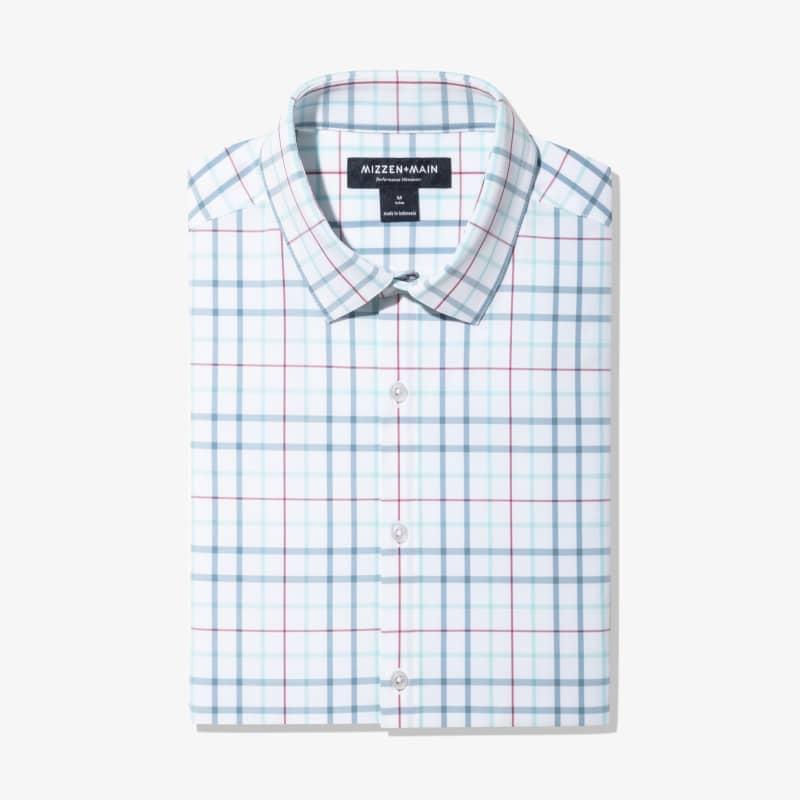 Leeward Dress Shirt - Niagara Multi Check, featured product shot