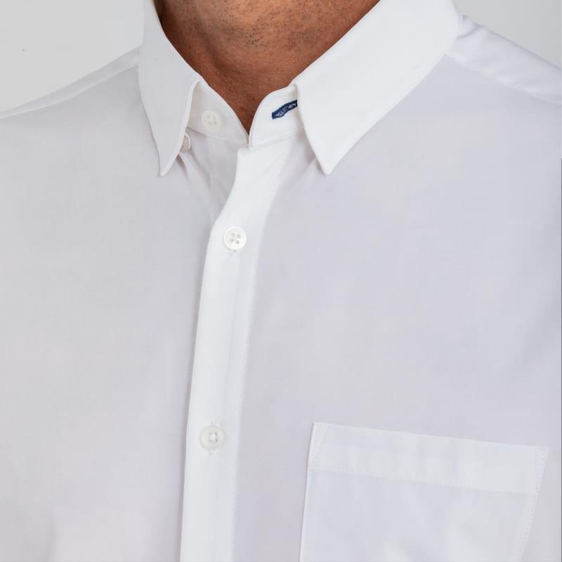 Leeward Short Sleeve - White Solid, lifestyle/model