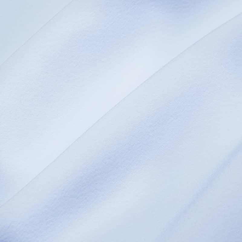 Leeward Casual Dress Shirt - Light Blue Solid, fabric swatch closeup