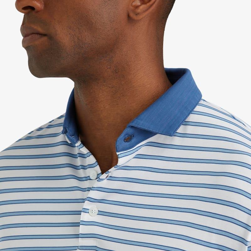 Wilson Polo - Light Blue Stripe, lifestyle/model