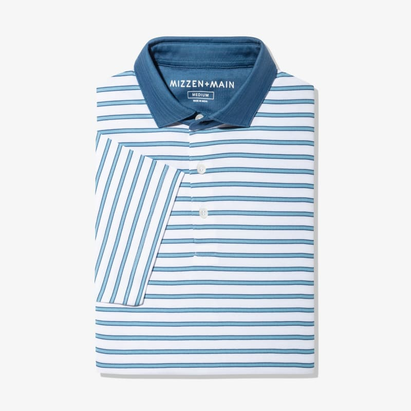 Wilson Polo - Light Blue Stripe, featured product shot