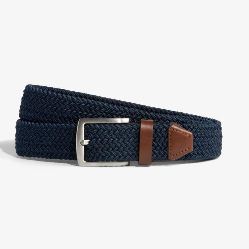 Belt - Navy / Tan, featured product shot