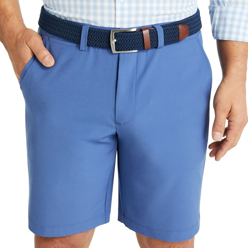 Belt - Navy / Tan, lifestyle/model
